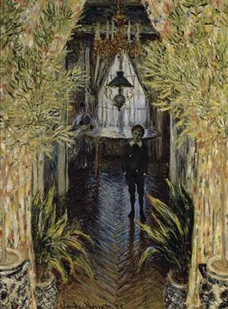 A Corner of the Apartment poster print by Claude Monet