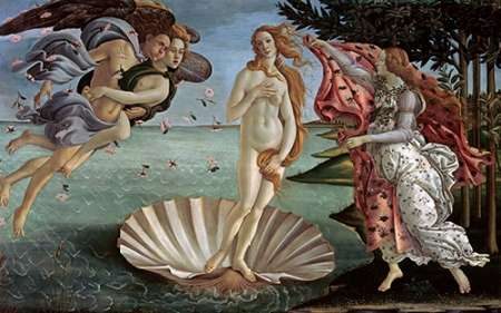 The Birth of Venus poster print by Sandro Botticelli