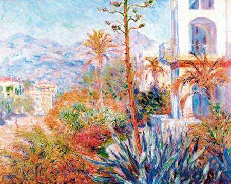 Bordighera 1884 poster print by Claude Monet