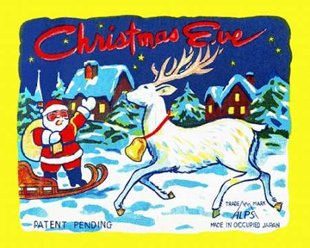 Christmas Eve poster print by  Unknown