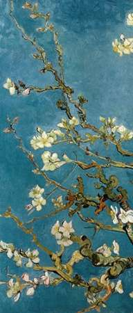 Blossoming Almond Tree - left poster print by Vincent van Gogh