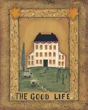 Good Life poster print by Pat Fischer