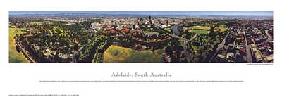 Adelaide poster print by Phil Gray