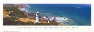 Cape Otway Lighthouse poster print by Phil Gray