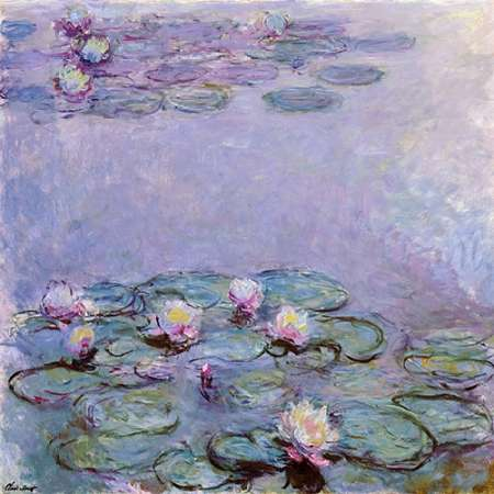 Water Lilies poster print by  Claude Monet