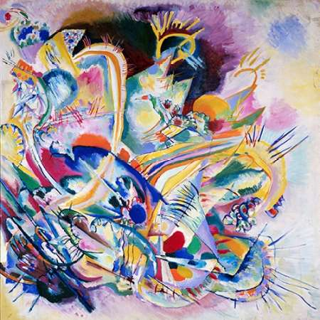 Improvisation Painting poster print by Wassily Kandinsky