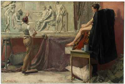 The Sculptor's Studio