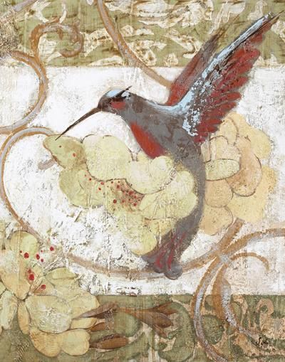 Humming Bird II poster print by Sofi Taylor