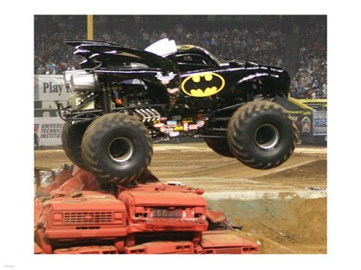 Batman Monster Truck poster print by  Unknown