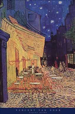 Cafe At Night poster print by Vincent van Gogh