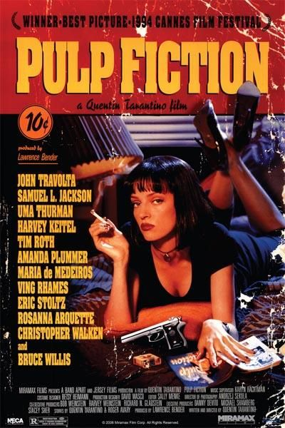 Pulp Fiction - Uma poster print by  Unknown
