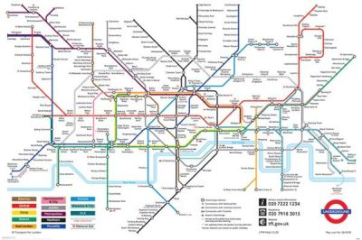 London Underground Map Unknown Art Prints Posters PictureStore