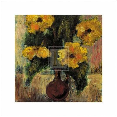 Fleurs D'automne III poster print by  Tina