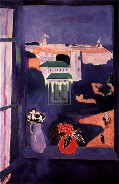 Window At Tangiers poster print by Henri Matisse