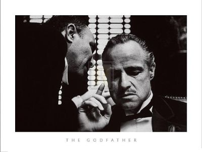 Godfather poster print by  Silver Screen