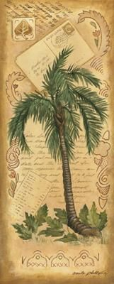 Palm Fornds II poster print by Anita Phillips