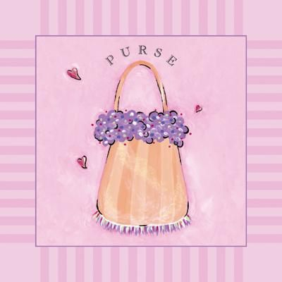 Purse poster print by Stephanie Marrott