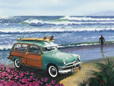 Surf City poster print by Scott Westmoreland