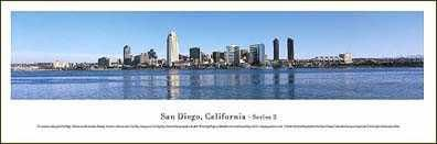 San Diego, California - Series 2 poster print by James Blakeway