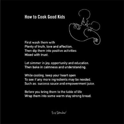How To Cook Good Kids poster print by  Sir Shadow