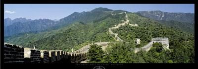 Great Wall Of China, Mutianyu poster print by Tomas Barbudo