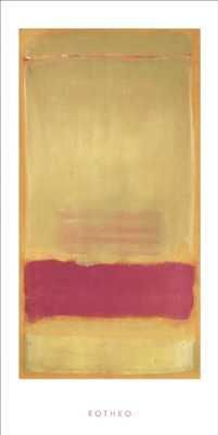 Untitled, 1949 poster print by Mark Rothko