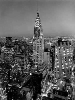 Chrysler Building poster print by Henri Silberman