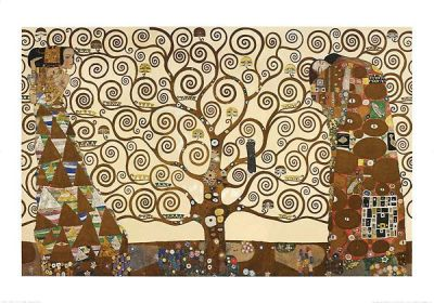 Tree Of Life - Stoclet Frieze poster print by Gustav Klimt
