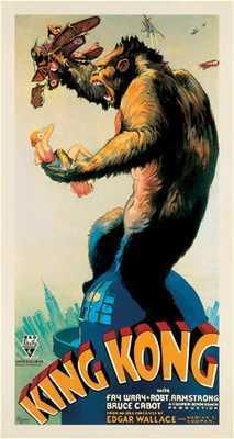 King Kong, 1933 poster print by  Unknown