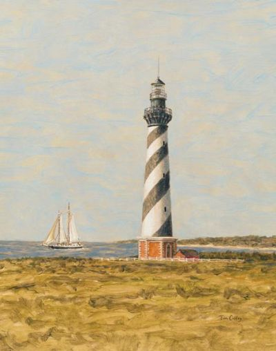 View From The Lighthouse II poster print by Tim Coffey