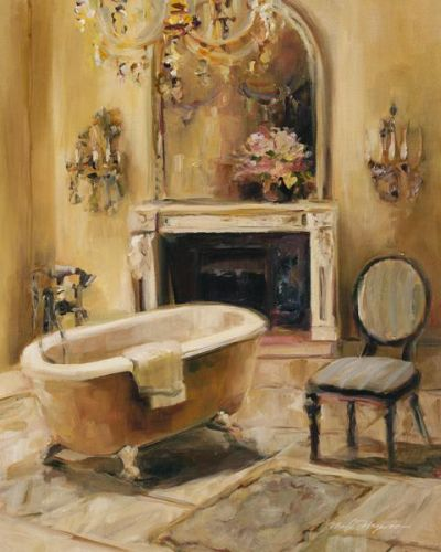 French Bath I poster print by Marilyn Hageman