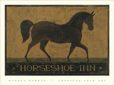 Horseshoe Inn poster print by Warren Kimble