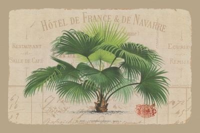 Hotel De France poster print by  Wild Apple Studio