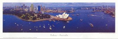 Sydney Australia poster print by PhilGray
