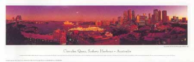 Circular Quay poster print by Phil Gray