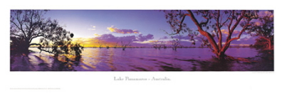 Lake Pamamaroo poster print by Phil Gray