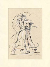 Tango I poster print by Alfred Gockel