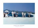 Bluebird at Bonneville poster print by Jack Vettriano