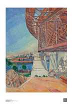 Curve of the Bridge poster print by Grace Cossington-Smith