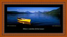 Lake McDonald poster print by Ken Duncan