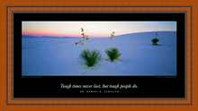 White Sands poster print by Ken Duncan