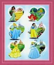 Disney Pricesses poster print