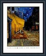 Cafe Terrace poster print by Vincent van Gogh