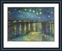 Night Stars poster print by Vincent van Gogh