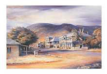 Cooktown poster print by Kenneth Jack