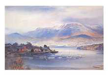 Hobart from Bellerive poster print by Kenneth Jack