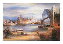 Sydney Harbour from Kirribilli poster print