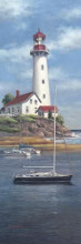 Lighthouse Shoals I poster print by Tc Chiu