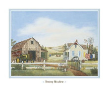 Breezy Meadows poster print by Kay Lamb Shannon