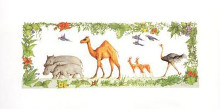Animal Parade II poster print by Francis Wainwright